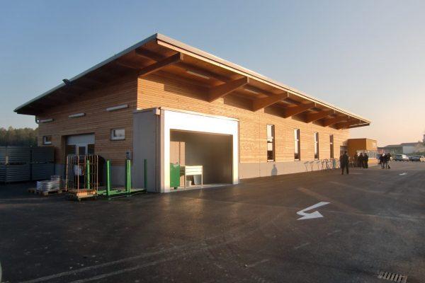 Pesendorfer Bau - Altstoffsammelzentrum Linden